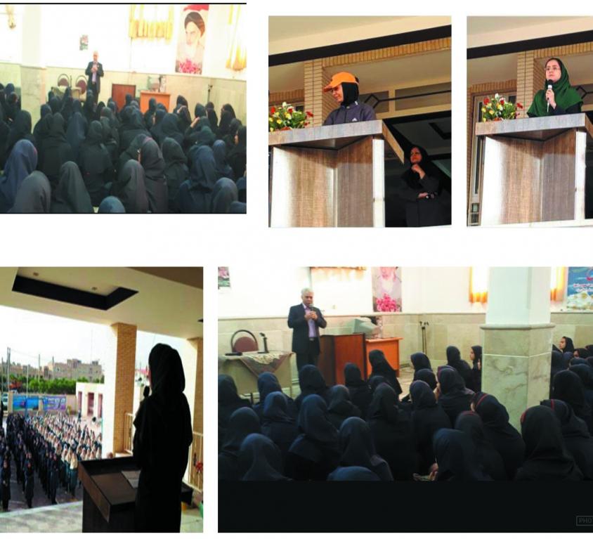 سخنرانی کارشناسان در مدارس استان